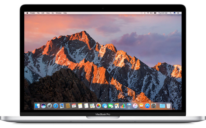 Apple 13 inch MacBook Pro no Touch Bar