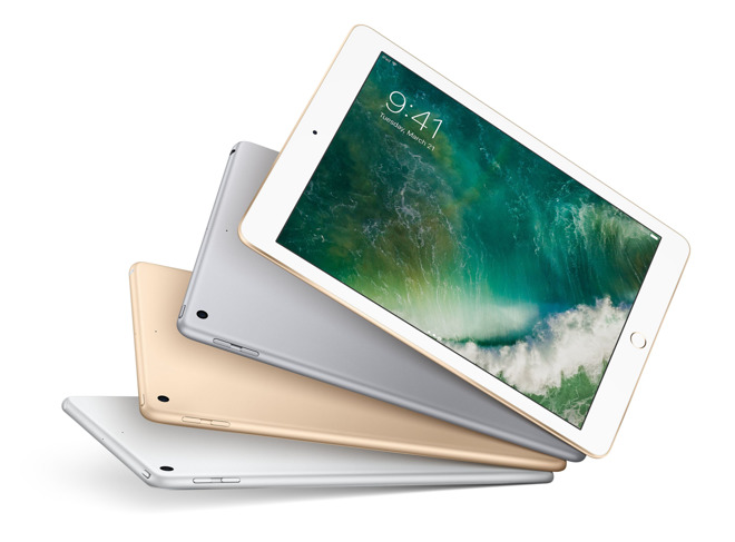 2017 9.7-inch iPads (5th generation) now shipping with free expedited shipping & no sales tax in 48 states